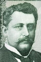 Hannes Hafstein portrait from Icelandic money