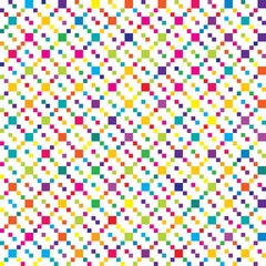 Vector color pattern for fashion design
