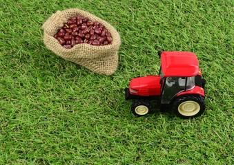 農地収穫イメージ