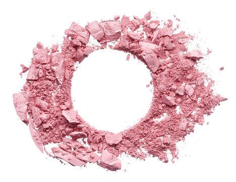 Make up crushed eyeshadow, blush or powder