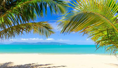Ferien, Tourismus,  Urlaub, Sommer, Sonne, Strand, Auszeit, Meer, Glück, Entspannung, Meditation: Traumurlaub an einem einsamen, Karibischen Strand :)