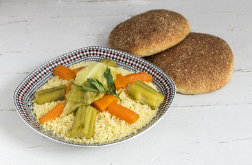 Delicious couscous homemade
