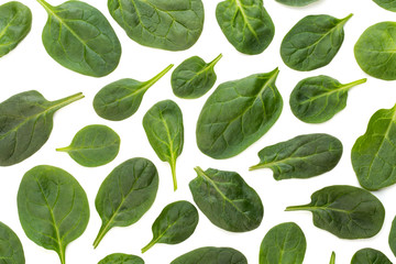 Spinach pattern background o