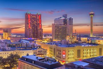 San Antonio, Texas, USA Skyline