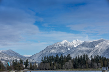 Rocky Mountains, Vancouver, British Colombia, Canada.