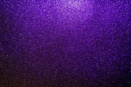 Glitter ultraviolet background