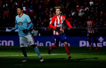 La Liga Santander - Atletico Madrid vs Celta Vigo