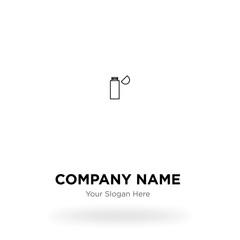 USB Flashcard company logo design template, Business corporate vector icon
