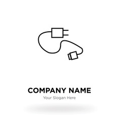 Charger company logo design template, Business corporate vector icon