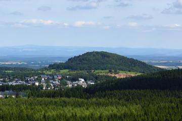 Altenberg und Geisingberg im Osterzgebirge
