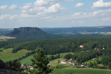 Elbsandsteingebirge - Lilienstein