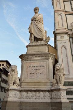 Dante Alighieri, Stanta Croce, Firenze