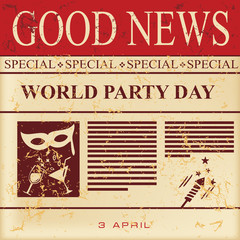 Good news - world party day