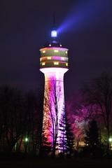 Wasserturm Gronau zu Nachteinblicken
