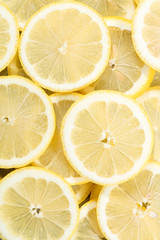 fresh lemon slices