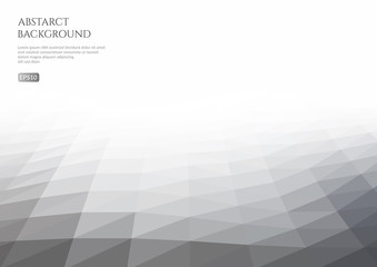 Abstract background of triangles. White space for text.