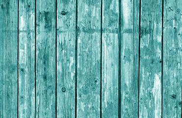 Wooden fence pattern in cyan tone.