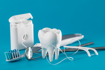 Tooth, health, dentistry concept.
