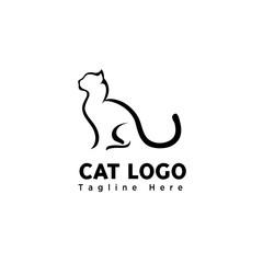 stand brush art cat logo