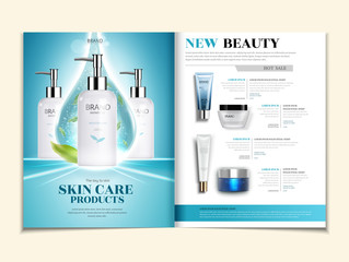 Skin care catalogue