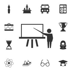 Training icon. Detailed set of education element icons. Premium quality graphic design. One of the collection icons for websites, web design, mobile app
