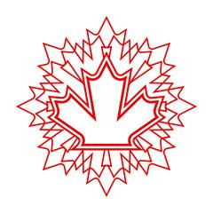 Unique Maple Leaf Design