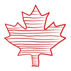 Maple Leaf Doodle