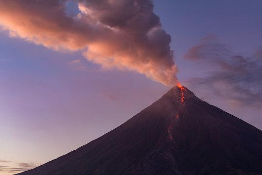 Mount Mayon, Albay, Philippines