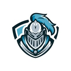 Spartan vector logo icon illustration