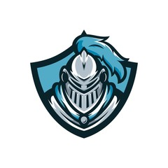 Spartan vector logo icon illustration