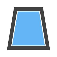 Trapezium, geometric, book