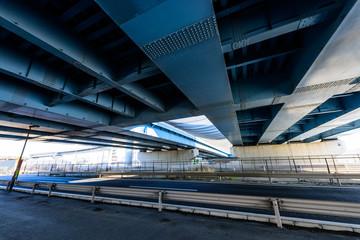 ジャンクションの高架下 Underpass