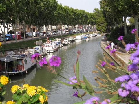 le canal de la robine Narbonne