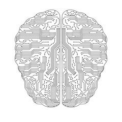 Sing of brain.