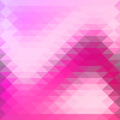 background in pink purple triangles overlap