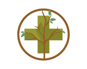 positive dead tree leafless plant fall image vector icon 1