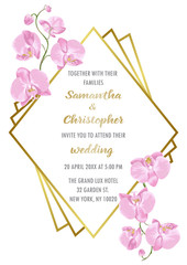 Wedding Inviration with Orchids