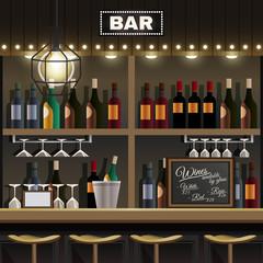 Bar Interior Realistic