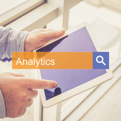 SEARCH TECHNOLOGY COMMUNICATION  Analytics TABLET FINDING CONCEPT
