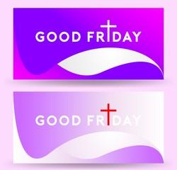 Good Friday background design
