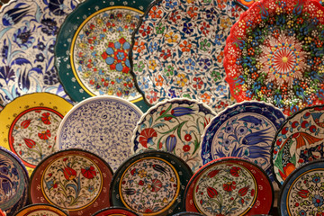 Ottoman ceramic and lamps