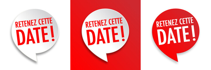 Retenez cette date (Save the date)