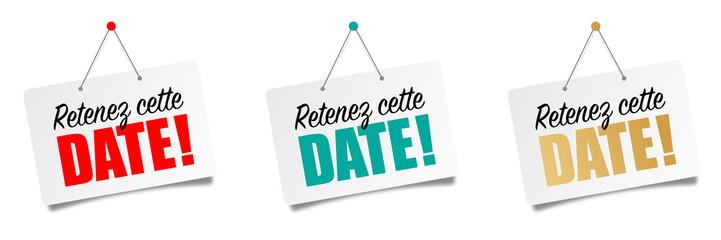 Retenez cette date (Save the date)