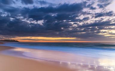 Sunrise Seascape and Beach