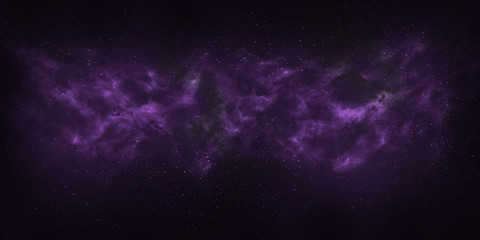 Space star background and nebula in colors of the ultra violet pantone. Using for Space background or space concept