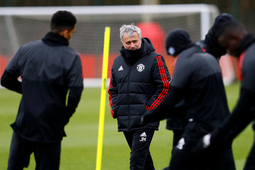 Champions League - Manchester United Training