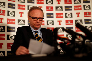 Scotland - Alex McLeish Press Conference