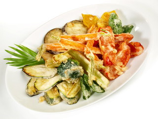 Tempura Gemüse - Teller