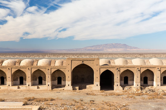 Deyr Gachin Caravansary, Qom, Iran