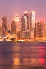 Skyline of midtown Manhattan, New York City, NY, USA